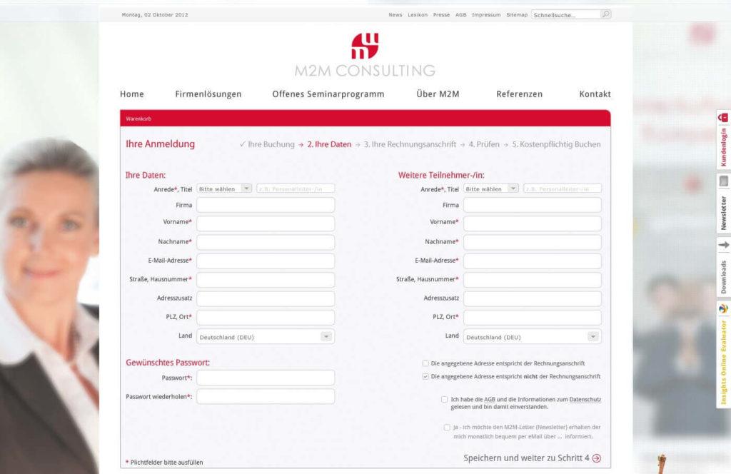 Kundenmanagement Formular