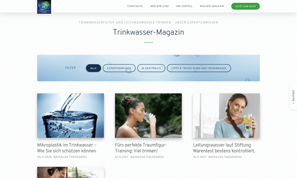 Webshop Magazin